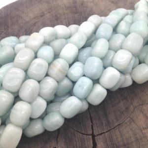 Amazzonite sassotto irregolare - filo 25 pezzi