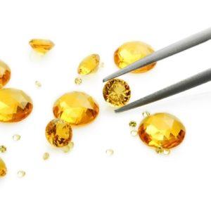 Gemstone reflection Siamite 1012 Canary Yellow - 1000 pezzi