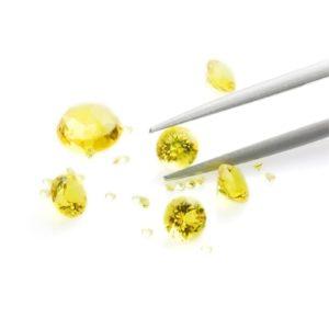 Gemstone reflection Siamite 1035 Yellow Sapphire - 1000 pezzi
