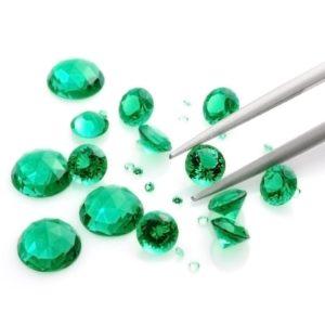 Gemstone reflection Siamite 1101 Emerald Yellow Green – 1000 pezzi